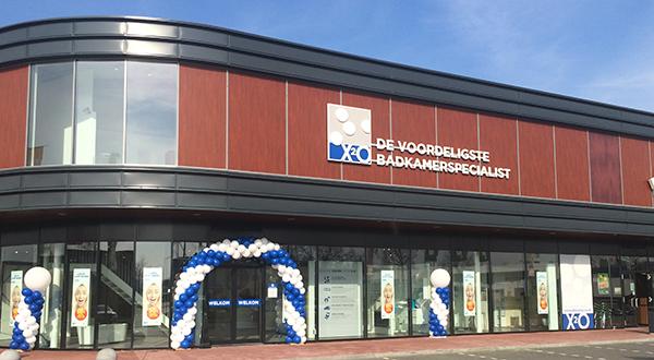 X2o opent badkamerspeciaalzaak in barendrecht propertynl for Jysk barendrecht