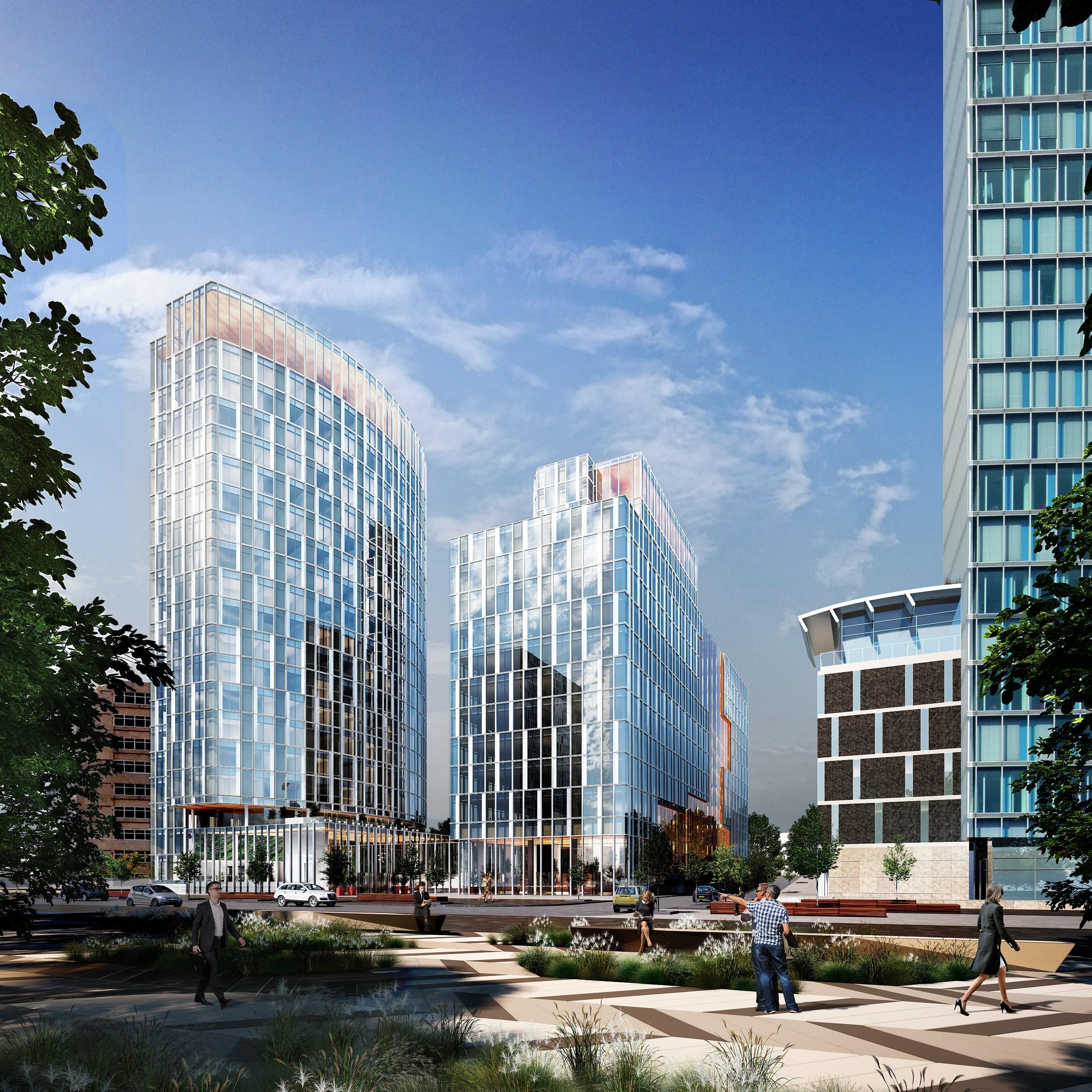Meliahotel Naar Two Towers Op Zuidas Amsterdam Propertynl